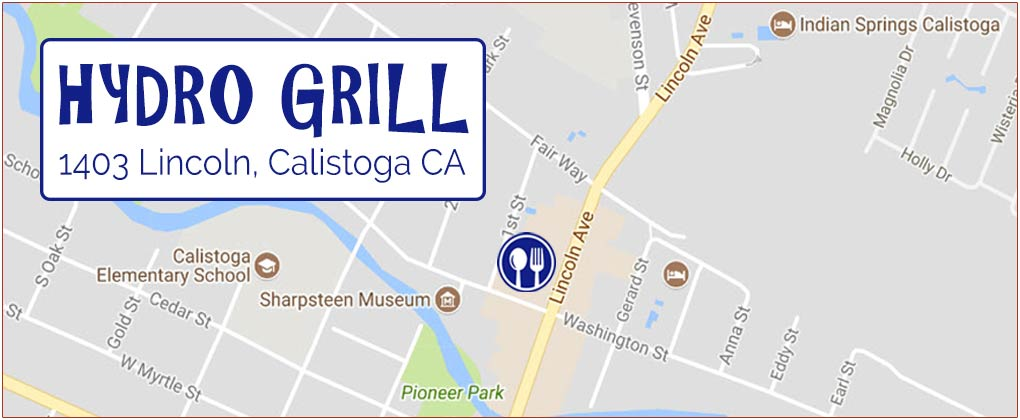 Hydro Grill location map